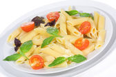 Penne pasta with vegetables — Stock Photo
