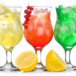 Alcohol cocktails — Stock Photo #3810644
