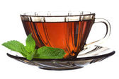 Tea with mint — Stockfoto