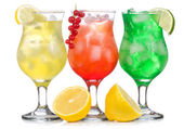 Alcohol cocktails — Stock Photo