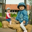 Children in park — Stock Photo