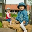 Stock Photo: children in park