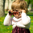 Little girl in sunglasses — Stock Photo #2763268
