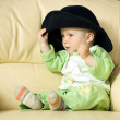 Baby in funny hat — Stock Photo #2763816