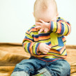 Little child want to sleep — Stock Photo #2764577