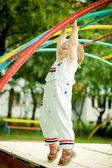 Little boy on a playground — Stock Photo