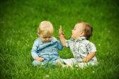 Children conflict — Stock Photo