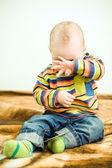 Little child want to sleep — Stock Photo