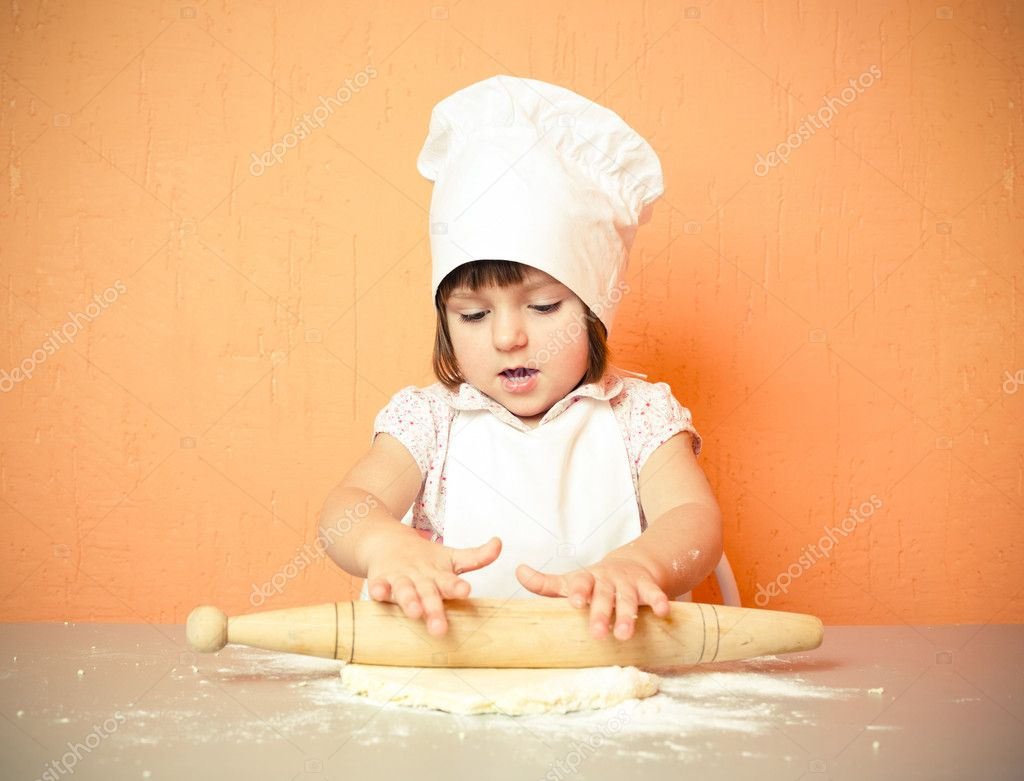Young cook — Stock Photo #2764462