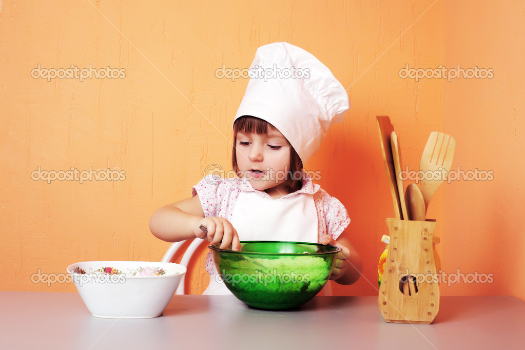 Young cook — Stock Photo #2764521