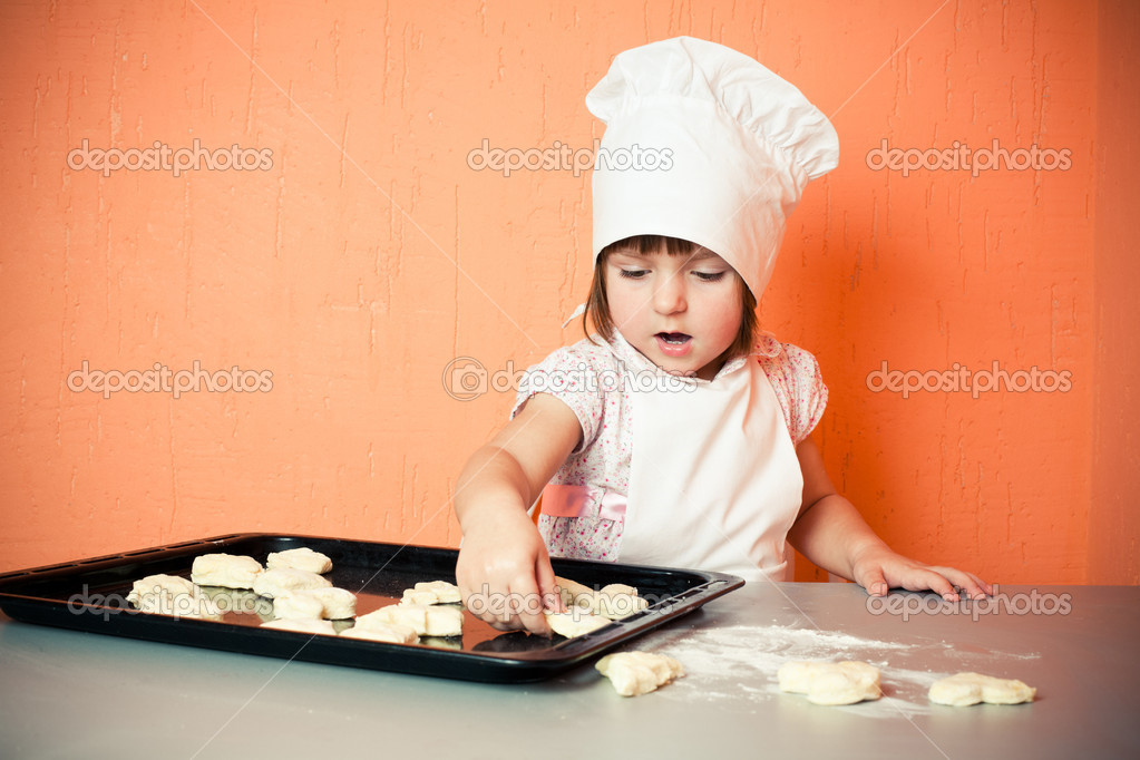 Young cook — Stock Photo #2764540