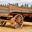 Stock Photo: Old wooden wagon