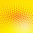 Stock Vector: Halftone background