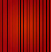 Red curtain — Vettoriale Stock