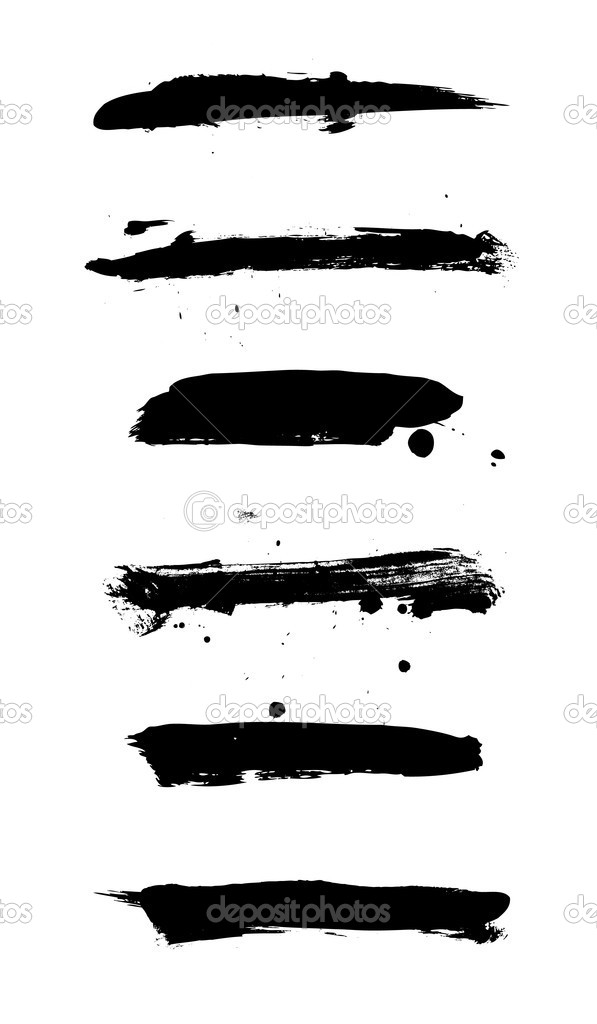 Set of grungy banners on white — Stock Vector #3287890