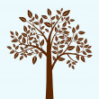 Vector de stock : Abstract tree