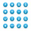 Web icons — Vettoriale Stock