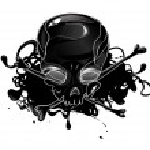 Skull with crossbones — Stock Vector