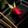 Rose sushi — Stock Photo