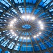 Glass dome ceiling — Stock Photo