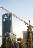 上海建筑起重机 — 图库照片