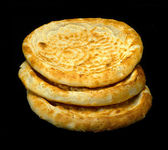 Uzbek bread — Stock Photo