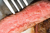 Beef ribeye steak — Stock Photo