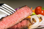 Beef ribeye steak — Stock Photo