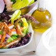Sesame chicken salad - Stock Photo