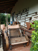 Old agricultural tools — Stock Photo