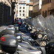 Florence - Invasion of motor scooter — Stock Photo #2995619