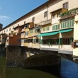 Florence - View of the Ponte Vecchio - Stockfoto