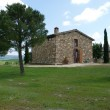 The landscape of the Val d Orcia — Stock Photo
