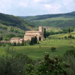 Stock Photo: Sant Antimo Abbey