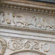 Royalty-Free Stock Photo: Siena - beautifully decorated frieze