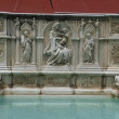 Siena - the Fonte Gaia - Stock Photo