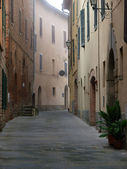 Morning in the Tuscan town — Stock Photo