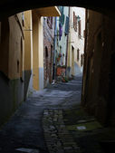 Morning in the Tuscan town. — Stock Photo