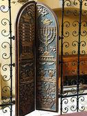 Kraków - synagoga remuh — Zdjęcie stockowe