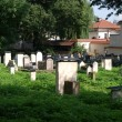 The Remuh Cemetery in Krakow, Poland, — Stock Photo