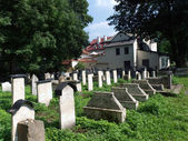 Remuh 公墓在克拉科夫,波兰, — 图库照片