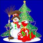 Snowman — Stock Vector #3775513
