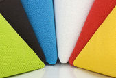 Carpet rainbow — Stock Photo