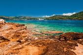 Croatian Adriatic coastline. — Stock fotografie