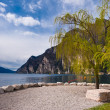 Lago di Garda lake view — Stock Photo