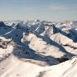 Swiss Alps in winter — Stock Photo