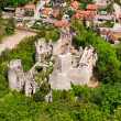 Stock Photo: Medieval castle ruins