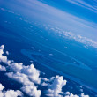 Stock Photo: Aerial view of clouds
