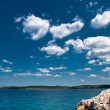 Royalty-Free Stock Photo: Adriatic Sea under blue sky