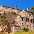 Stock Photo: Old rundown Mediterranean house